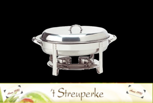 VH Chafing Dish ovaal verhuur